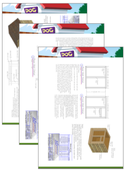 How To Build A Dog House Insulated Dog House Plans